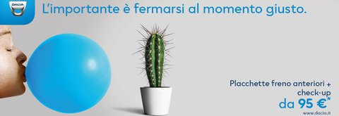 Promozione pull sicurezza Dacia a Parma da Carebo